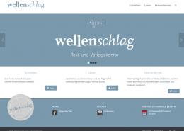 Screenshot www.wellenschlag-verlag.de