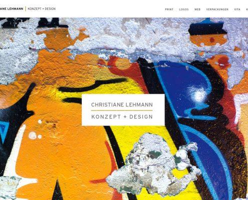 CL Konzept + Design: Startseite